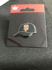 NEW San Francisco Giants Cap Pin - Throwback  MLB Licensed SF Logo - Mays Posey