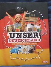 Rewe - Unser Deutschland - Sammelalbum Vollständig geklebt