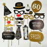 30th 40th 50th Happy Birthday Party Decorations Photo Booth Props  30 40 50 Year