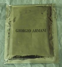 ARMANI Genuine Pouch in Smart Black Suede 11 X 8 Cm for Samsung P520 Immed Post