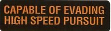 Motorcycle Sticker for Helmets or toolbox #435 Capable of evading high speed pur