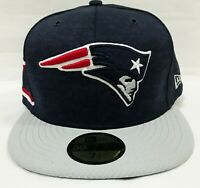 New Era NEW ENGLAND PATRIOTS NFL Sideline Collection 59Fifty Men's 7 1/2 Cap Hat