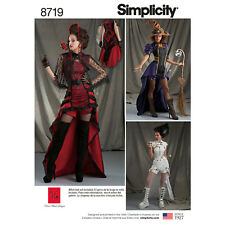 Schnittmuster Gothic-Cosplay- Steampunk Gr.40-48