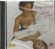 GOGI GRANT - 2 CD Set - With All My Heart - BRAND NEW