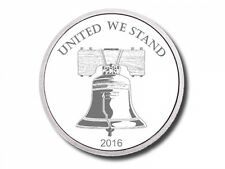 5 - 2016 - 1 oz. 999 Fine Silver Rounds - Liberty Bell - Protected- Uncirculated