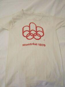VINTAGE 1976 MONTREAL OLYMPICS T-SHIRT