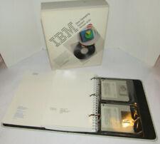 """VINTAGE 1988 IBM DISK OPERATING SYSTEM DOS VERSION 4.00! BINDER & 3.5"""" DISKETTES"""