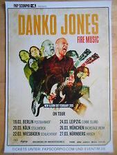 DANKO JONES 2015 TOUR   ORIGINAL Concert Poster  --  Konzert Plakat A1