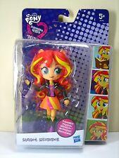 Muñecas Chicas Minis Sunset Shimmer Mi Pequeño Pony Poseable Figura Muñeca penumbra