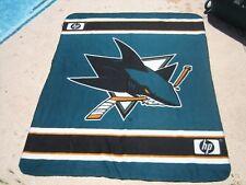 San Jose Sharks NHL Hockey Giant Fleece Blanket 50x60