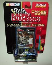 Jimmie Johnson 2002 Lowe's #48 Rookie Chase the Race 1/64 Racing Champions New