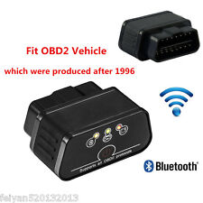 OBD2 Wifi ELM327 Bluetooth Car Diagnostic Scanner Reader For Android iOS OBDII