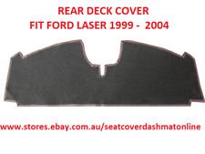 BLACK REAR DECK COVER, REAR PARCEL SHELF FIT  FORD LASER 19 - 2004, BLACK