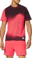 New adidas Mens Freelift Spray Climalite Crew T-Shirt top  XS to 2XL  gym sport
