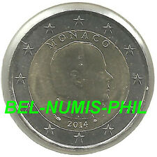 MONACO 2014 - 2 Euro munt Prins ALBERT - UNC!