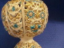 Antique Hungarian Zsolney Hand Painted Porcelain Vase