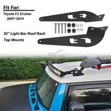 "Top Roof Mount Bracket Fit For FJ CRUISER For 52"" Straight/Curved LED Light Bar"