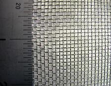 Brass Woven Mesh Medium Fine 0.178mm Aperture 0.14mm Wire #80