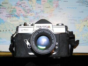 Spiegelreflexkamera, analog, FUJICA Japan, Typ ST 701, von 1970