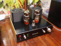 AUDIOPHILE KT66 TUBE SINGLE-ENDED STEREO AMPLIFIER SPIANATO HANDMADE FROM RUSSIA