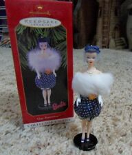 Hallmark 1999 BARBIE GAY PARISIENNE Keepsake Ornament QXI5301 with Box