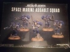 #2 Warhammer GW 40k Space Marine Assault Squad Sealed New 48-09 Bases?