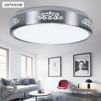 12W LED Recessed Ceiling Light Modern Fixture Round Mount Lamp Bedroom