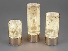 Formano LED-Deko-Licht Winterzeit Hirsch mit Timer Funktion, ca. 20 cm