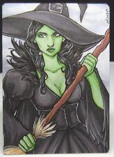Lynne Anderson Perna Studios Classic Fairy Tales 2 METAL 1/1 Sketch Card