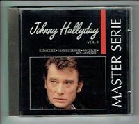 Johnny HALLYDAY Disque CD MASTER SERIE Vol. 1 - POLYGRAM 832049-2 Frais Rèduit
