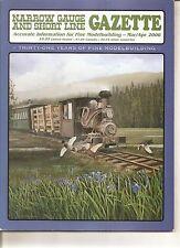 Narrow Gauge Gazette - Mar 2006 - Sn2 Caboose - Kanai Rwy Coach and Picnic Cars