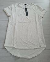 Tigha Herren  Sweat T-Shirt Milo Off White Größe M