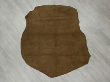 Pig Suede Leather: Taupe Brown Gray 8.2 sq ft (296-1-TP-X3278) K11