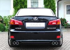 Lexus IS250 IS220D IS350 2005-arrière 2012 boot lip spoiler vendeur britannique