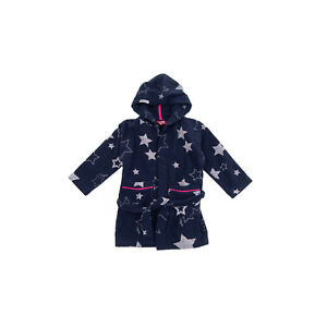 VINGINO Robe Size XXS - XS / 4Y Stars Print Belted Long Sleeve Hooded