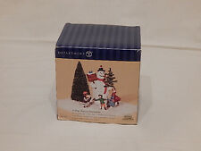 Department 56 Village Square Snowman 2002 Heritage Village Limited Collection