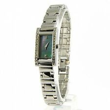 New Pulsar Crystal Set Ladies / Womens Silver Tone Bracelet Watch PEGD31X1 RP£80
