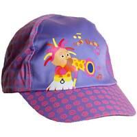 Girls In The Night Garden Upsy Daisy Sun Hat Peak Cap Lilac Pink 1-3yrs