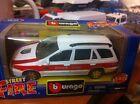Burago Fiat Marea Polizia Civile 1:43