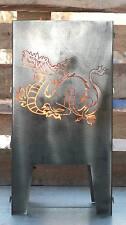 Feuerkorb Drache 300 x 300  aus Edelstahl Serie Coybo Feuerschale Gartenfeuer