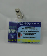 Blade Runner ID Badge-Spinner Operator Permit prop costume cosplay