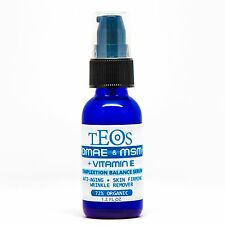 DMAE & MSM Serum-Natural Organic Skin Firming AntiAging Wrinkle Skin Cream 1.2oz