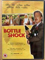 Bottle Shock DVD 2008 Wine Vineyard Comedy / Drama starring Alan Rickman