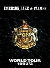 EMERSON, LAKE & PALMER 1992/ 1993 BLACK MOON WORLD TOUR PROGRAM BOOK / NM 2 MINT