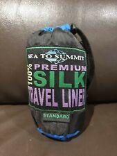 Sea to Summit Sleeping Bag Liner NWOT 100% Silk Purple