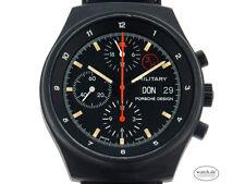 Porsche Design Orfina Zertifikat 6.800,-€ Military Chronograph Bund Stahl Black