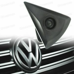 Waterproof 170° HD CCD Front View Camera Car Logo Embedded New for Volkswagen