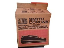 Smith Corona Se200 Word Processor Electric Typewriter With Box Cover Power Cable