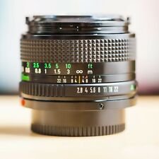 Rare Canon FD 35mm f/2.8 nFD New FD 1:2.8 !! Super Offre !!