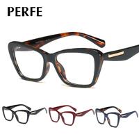 Women's Retro  Optical Glasses Cats Eye Clear Lens Myopia Glasses Frames New